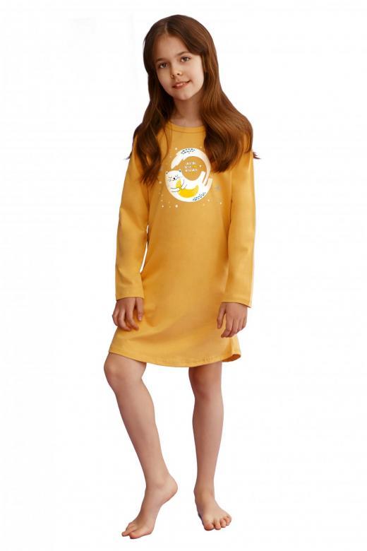 Dívčí noční košile Taro 2617 Sarah žlutá