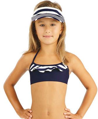 Dívčí plavky top s volánkem Litex 88464