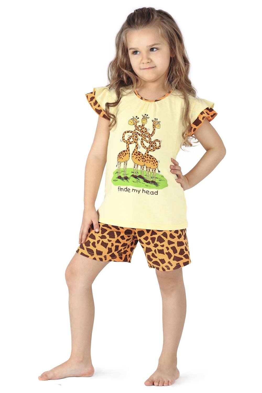 Dívčí pyžamo Cornette 787/23 Giraffe