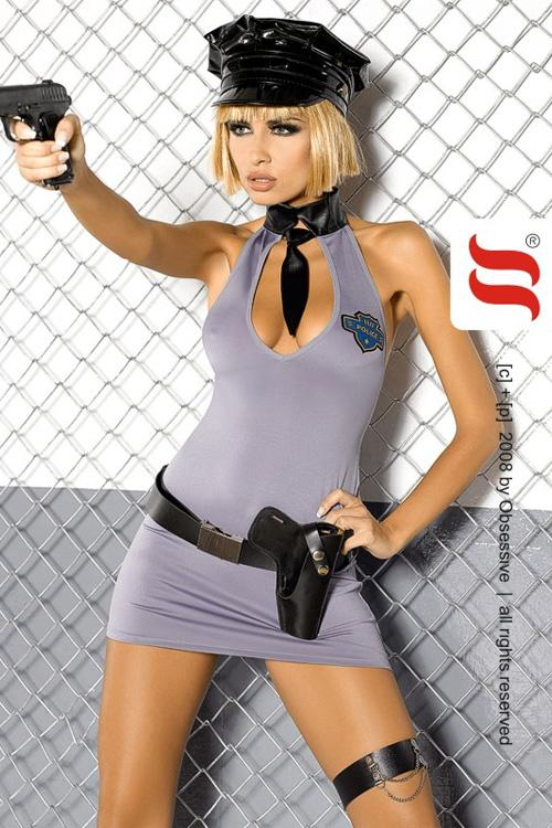 Erotická souprava Obsessive Police dress