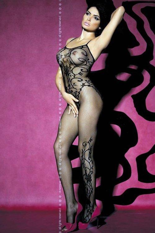 Erotické body Obsessive F205 black