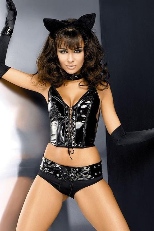 Erotický obleček Obsessive Pussycat