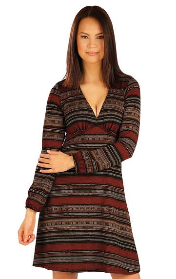 e8f2f556c9be Dámské šaty s dlouhým rukávem Litex 51019