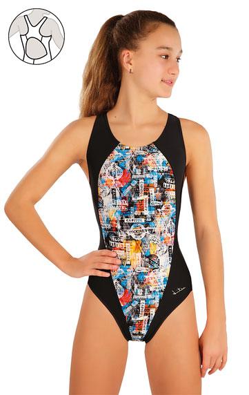 Dívčí jednodílné sportovní plavky Litex 57586 Litex