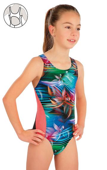 Dívčí jednodílné sportovní plavky Litex 57588 Litex