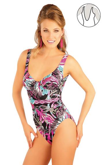 Litex 88186 Jednodílné plavky s kosticemi