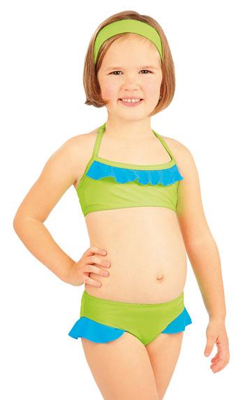 Litex 88497 Dívčí plavky top s volánkem