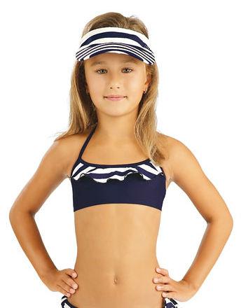 Litex 93574 Dívčí plavky top s volánkem