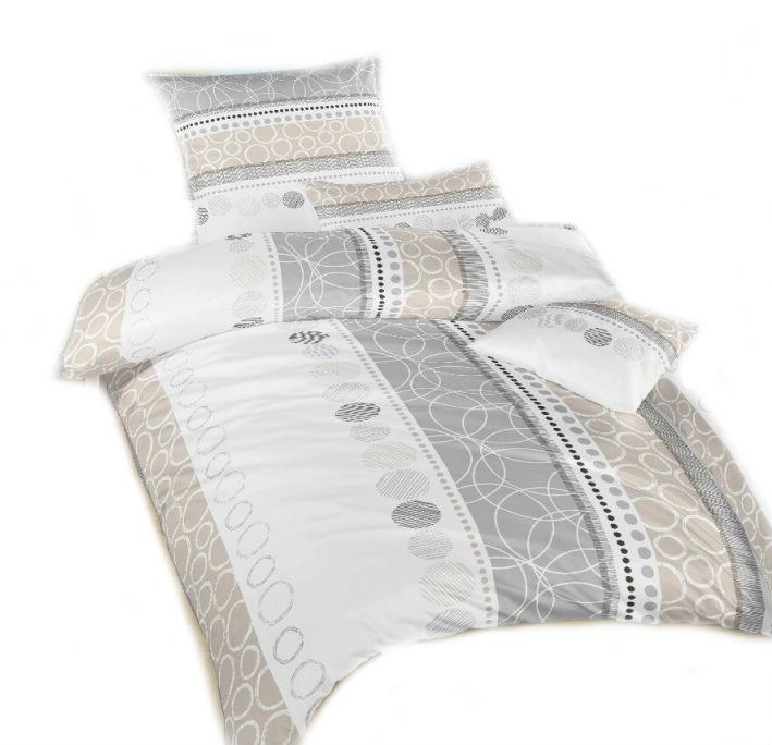Ložní povlečení bavlna DADKA Ateliér béžový