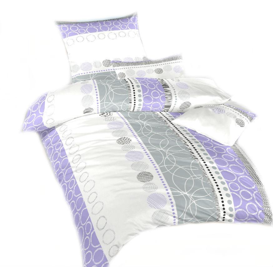 Ložní povlečení bavlna DADKA Ateliér fialový