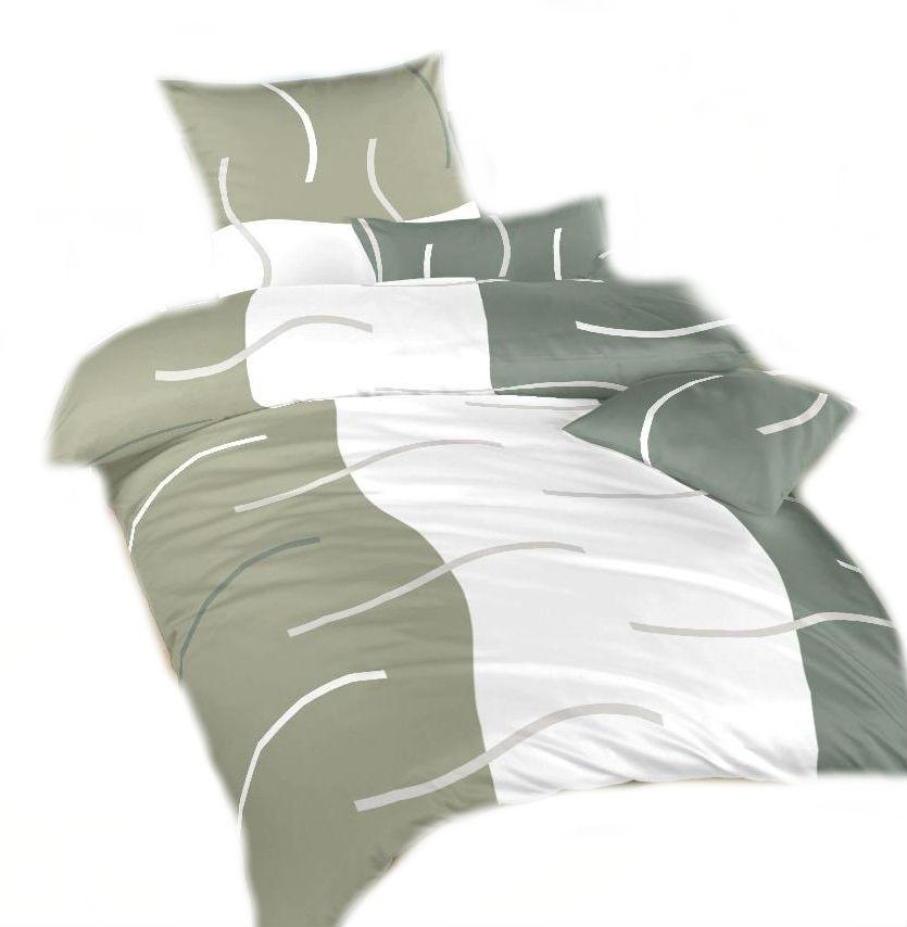 Ložní povlečení bavlna DADKA Island šedý