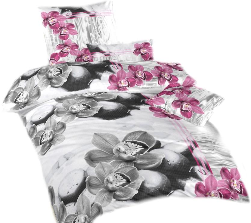Ložní povlečení bavlna DADKA Orchidej 3D