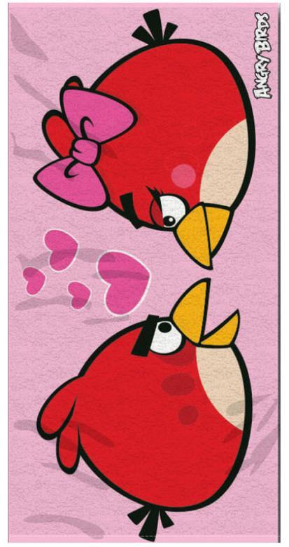 Osuška Angry Birds Love 70x140
