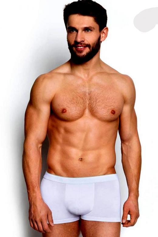 Pánské boxerky Esotiq 34325 bílé