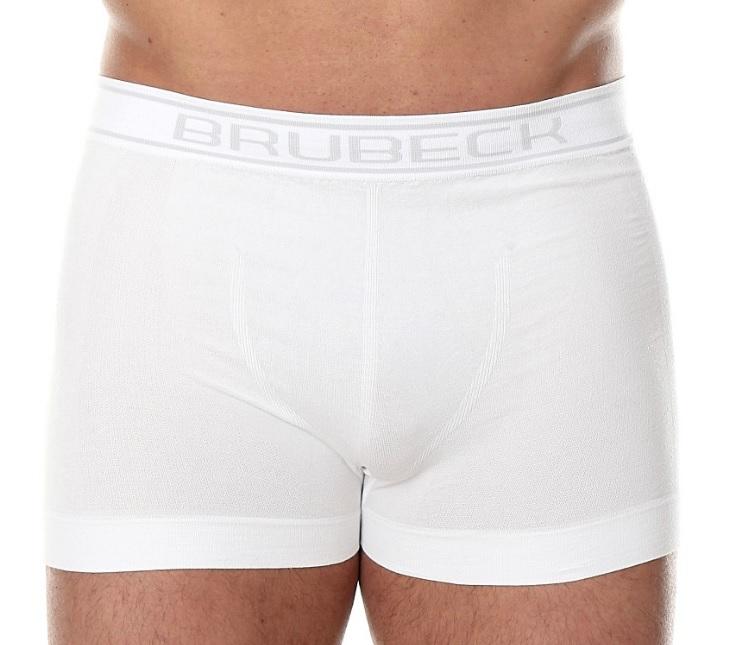 Pánské boxerky Brubeck BX 00501 bílé