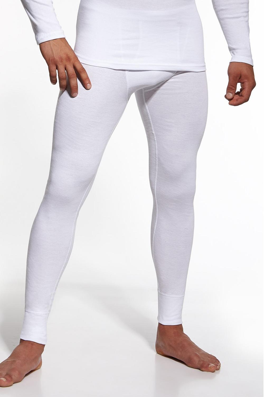 Pánské podvlékací kalhoty Cornette Authentic bílé