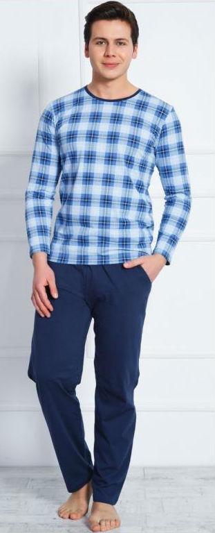 Pánské pyžamo dlouhé Vienetta Secret Honza