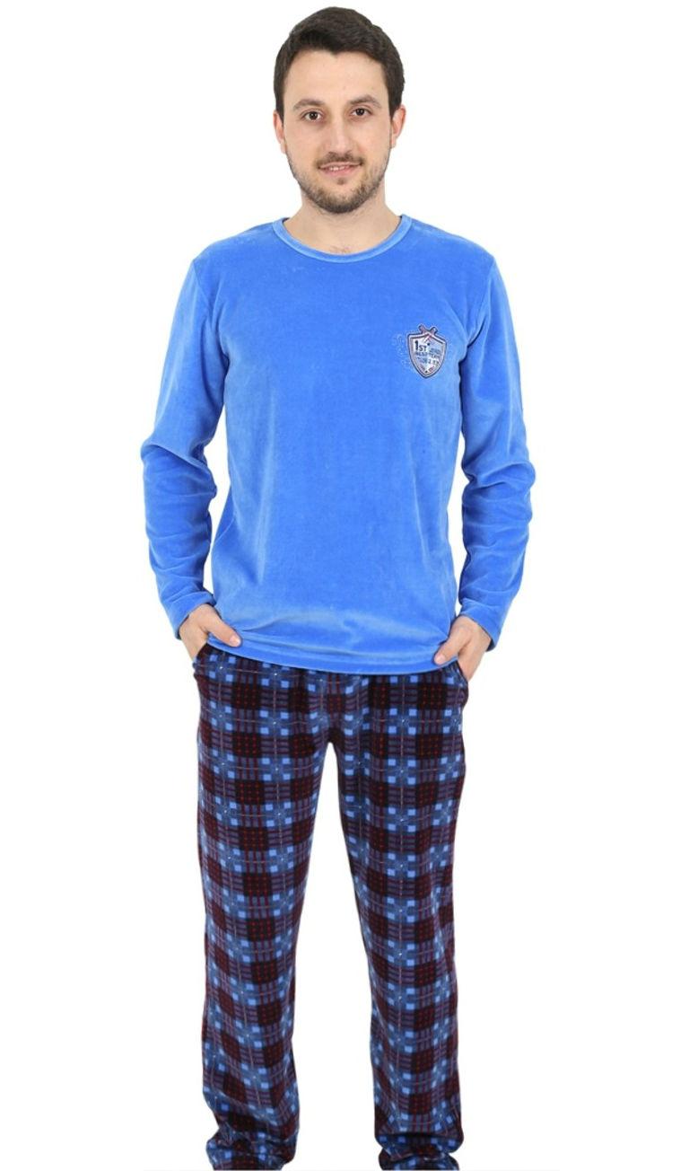 Pánské pyžamo dlouhé Vienetta Secret Marek