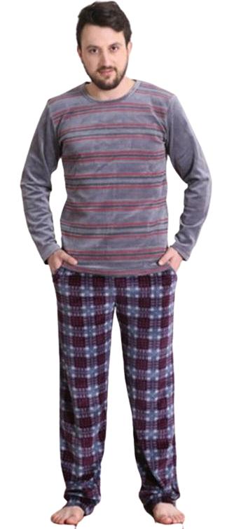 Pánské pyžamo dlouhé Vienetta Secret Tomáš