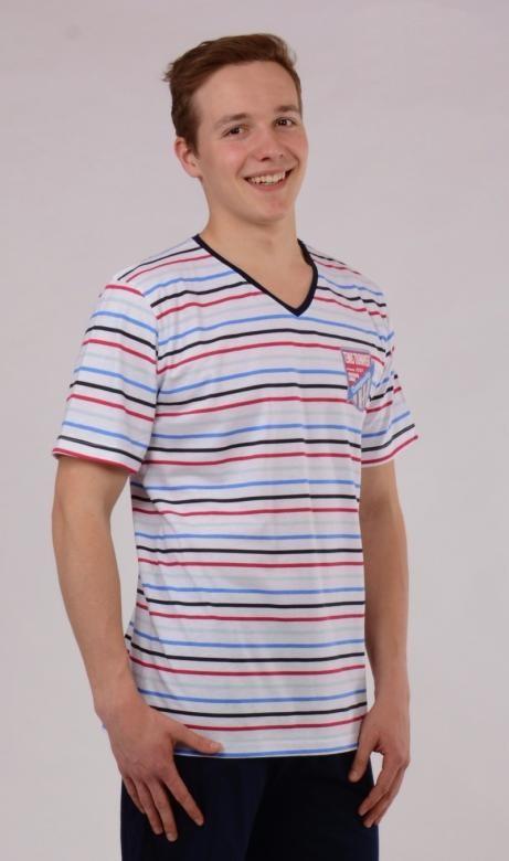 Pánské pyžamo šortky Vienetta Secret Andrew výprodej