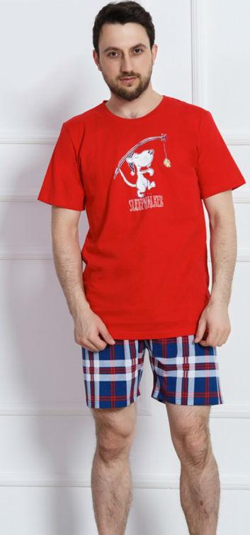 Pánské pyžamo Vienetta Secret Sleepwalker šortky