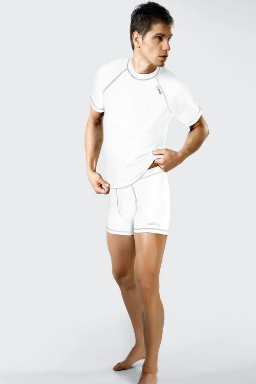 Pánské sportovní šortky Winner Classic VI bílé