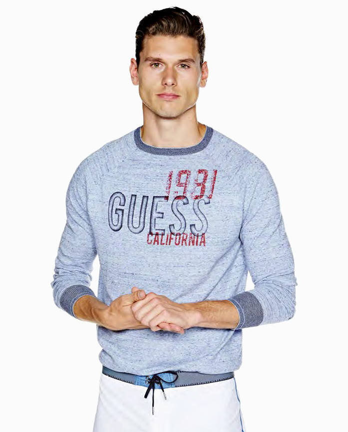 Luxusni pansky svetr guess levně  c3bd578c9d