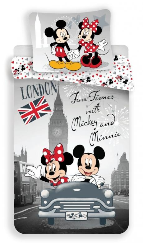 Povlečení Mickey and Minnie in London