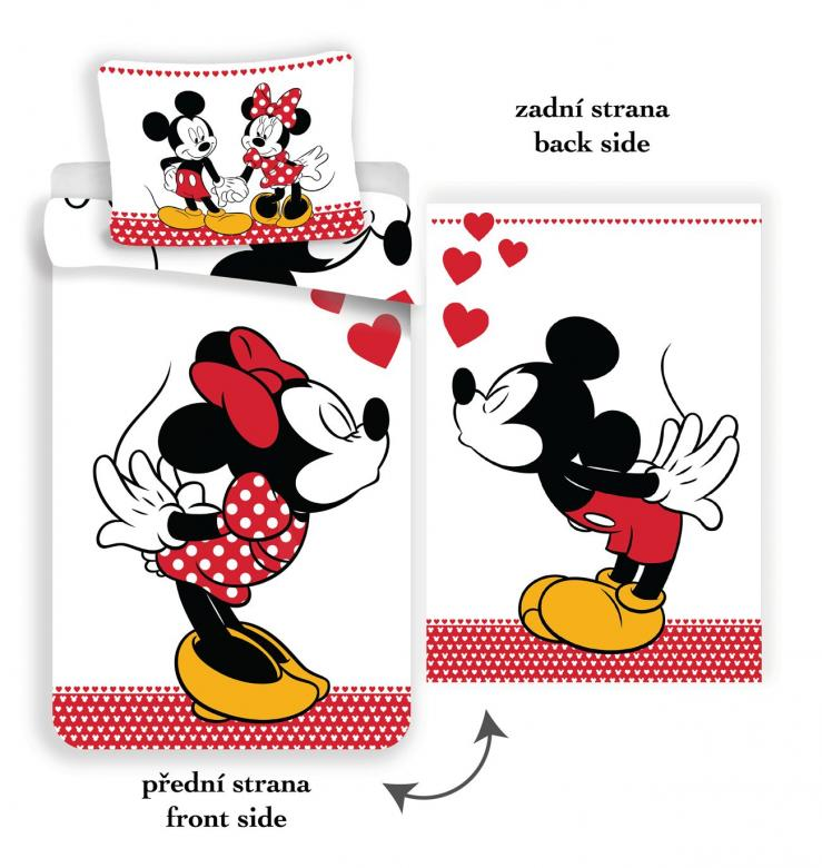 Povlečení Mickey and Minnie in love