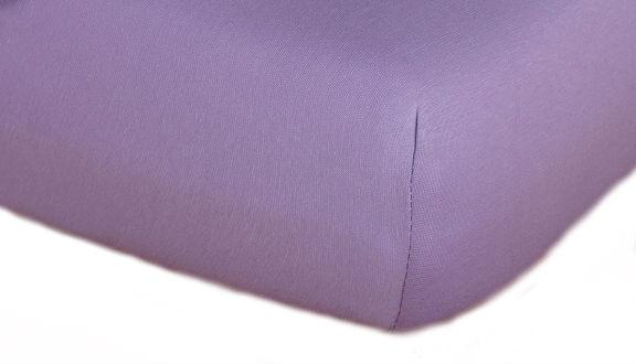 Prostěradla jersey - fialová