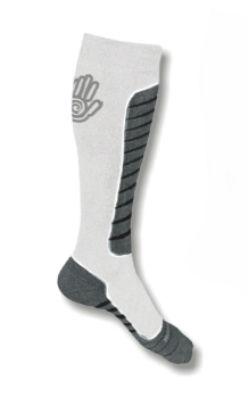 Sensor podkolenky Snow Pro bílá-šedá